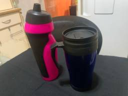 Kit Caneca térmica e squeeze power body