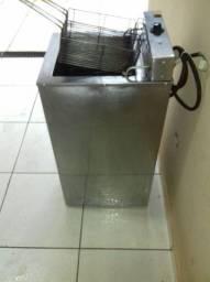 Vendo fritadeira elétrica (água e óleo) 21L