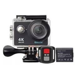 Câmera De Ação Eken H9r 4k Wifi Controle + Bateria Extra original + case