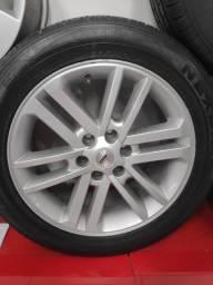 Roda aro 20 Hilux/Ranger/Triton/S10 com pneus