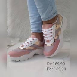 Tênis Vizzano Rosa Gold
