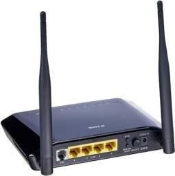 roteador wireless 2 antenas - bom e barato