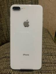 IPHONE 8 PLUS 64 GB SILVER IMPECÁVEL
