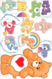 Display Decorativo Ursinhos Carinhosos 10 Peças