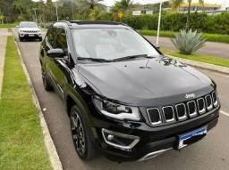 Jeep Compass limited diesel com teto 37.500km apenas