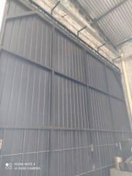 Portão barracão 4x4
