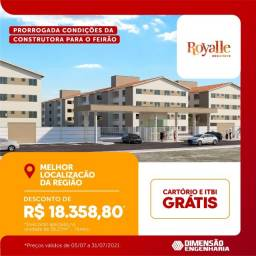 Título do anúncio: A= Royale Residence ? No Turu Após o Posto Natureza Shell