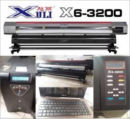 Impressora plotter Xuli X6 R3200 com 3,20 m