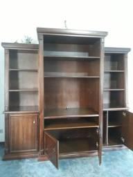 Vendo estante antiga de madeira excelente!