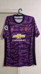 Camiseta Manchester United Roxa, Pogba
