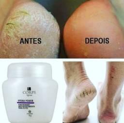 Creme concentrado para os pés