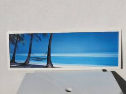 Quadro - Rede na Praia