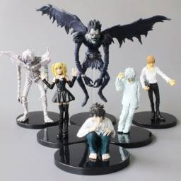 Death Note Kit Com 6 Action Figure Boneco Kira Near L Ryuk