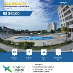 Apartamento mobiliado em Jacaraípe, 02 quartos