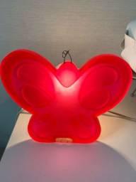 vendo luminária de borboleta