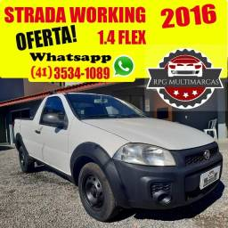 Título do anúncio: Fiat Strada Working 1.4 ano 2016 * Abaixo da FIPE * - Aceito Troca - Financio 100%