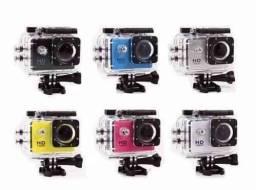 Título do anúncio: Mini Câmera Filmadora Sports Hd 1080p Aprov D'agua Moto Bike com Wifi<br><br>