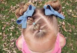 Penteados enfantil
