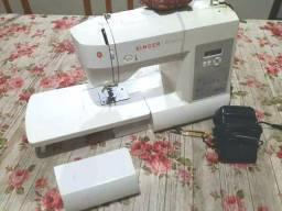 Máquina de costura singer pontoa decorativos