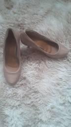 Sapato Salto Nude