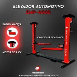 Elevador Automotivo Machine-Pro 4000 kg | Equipamento Novo | Trifásico