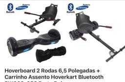 Hoverboard com Carrinho