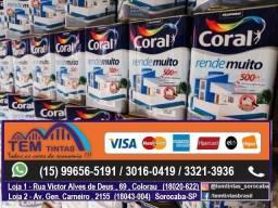 Promoção Tinta Coral 18 Litros / 3,6 Litros / Enjoy !