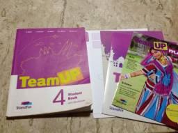 Livro de inglês - Team Up 4
