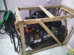 Compressor novo 10 pés