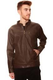 Título do anúncio: Jaqueta de Couro Masculina 100% Legítimo Original - Modelo Brad