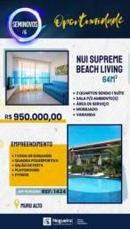 Título do anúncio: *(GV)*****Cond. Nui Supreme Beach Living