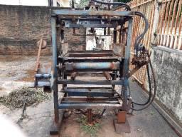 Prensa bloco concreto hidraulica sucata