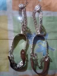 Vendo espora de prata no valor de R$1.500
