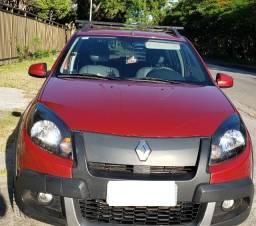 Renault sandero stw 1.6 hp 8v flex 2014 vermelho