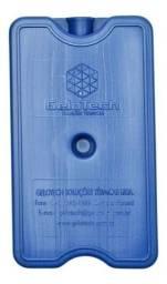 Título do anúncio: Placa Gelo Reutilizável 750ml P/ Carrinho De Sorvete 2 Unid