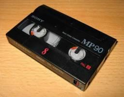 Converto suas fitas de vídeo 8mm, Video8 e Hi8 para DIGITAL