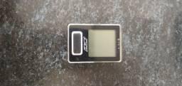 Ciclo computador, odômetro ou velocímetro.