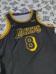 Regata NBA Lakers Black Mamba Kobe Bryant