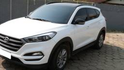 Hyundai New Tucson Turbo GDI branca 2019 teto solar único dono revisões concessionária