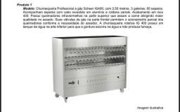 Vendo churrasqueira da marca Scheer - Modelo IG400