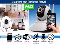 Câmera ip monitor e varredura 360