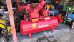 Compressor Wayne 25 pés alta pressão revisado