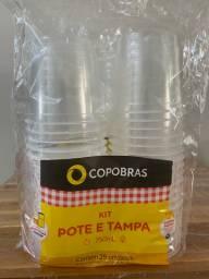 Marmita descartável 750 ml