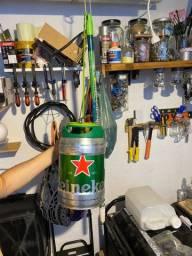 Pendente de Luz Luminaria Heineken