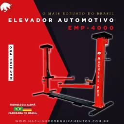 Elevador Automotivo 4000 Kg | Trifásico | Machine-Pro | Novo