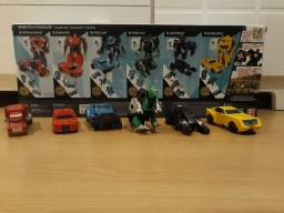 Kit Transformers Robots in Disguise com 6 bonecos