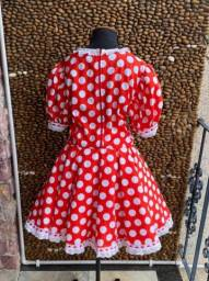 Fantasia Vestido Minnie  - Adulta