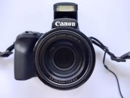 Canon Powershot Sx530hs + Case Logic Dcb-304 Perfeito Estado!