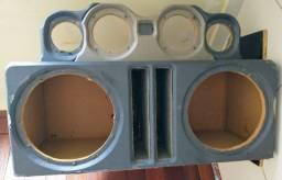 Caixa de som em MDF litrada para fones de 12 polegadas MB Eros 1100 RMS.