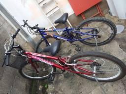 Vendo bicicletas aro 24 com 18 marchas